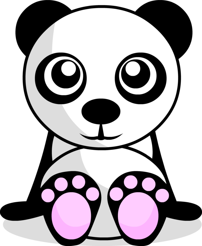Panda drawing png. Cute by pandaaah on