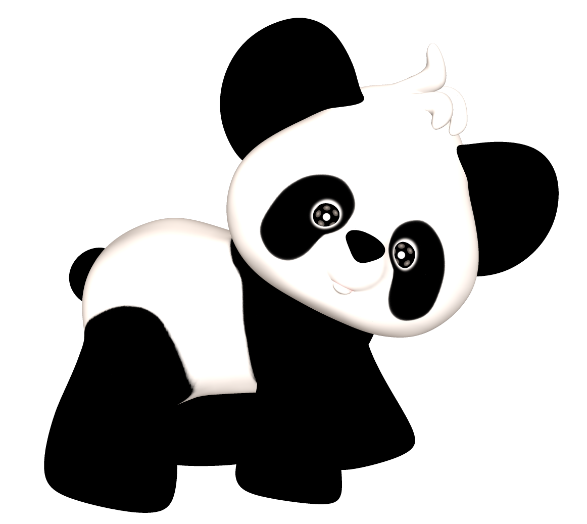 Panda gif png. Collection of clipart