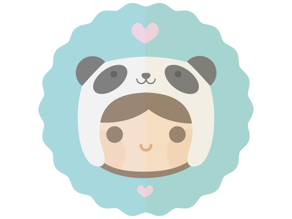 Panda hat png. Kawaii by apparate on