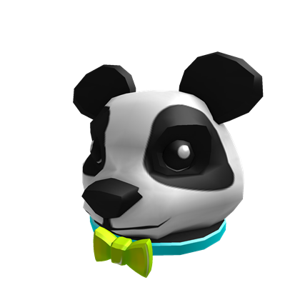 Panda hat png. Image neon party roblox