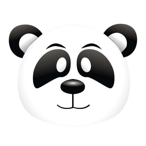 Panda icon png. Powerful seo set by