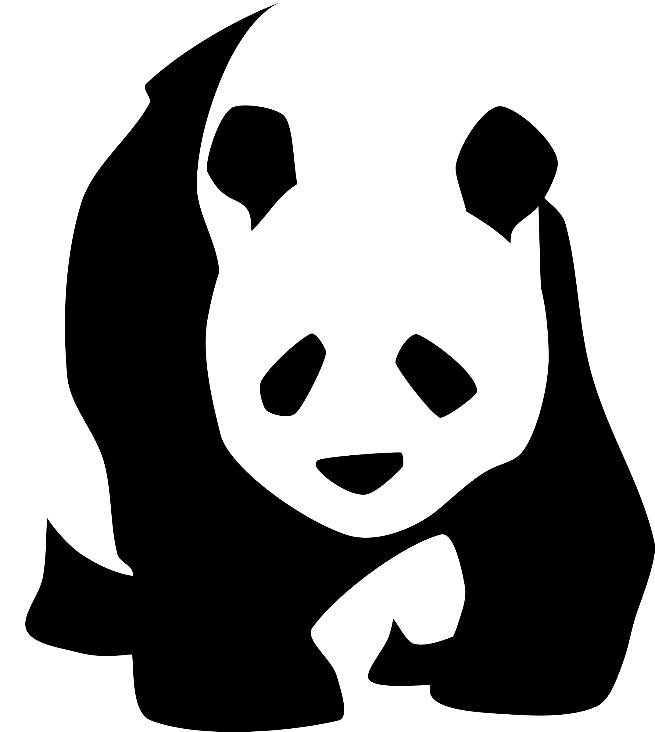 Panda logo png. Giant icons free and