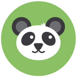 Panda png icon. Seo iconset the hoth