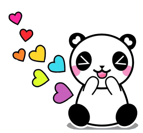 Panda png transparent. By edittionsgaby on deviantart
