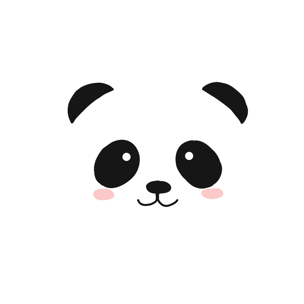 Tumblr panda png. Bear animal cute comic