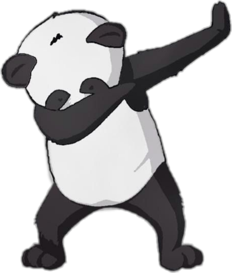 Panda png tumblr. Freetoedit deep cute blackandwhite