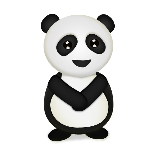 Panda clipart 熊猫. Icons free icon download