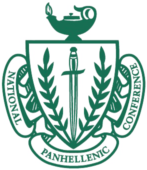 Panhellenic crest png. Council phc the university