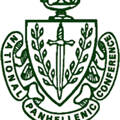 Panhellenic crest png. Ucf on twitter greek
