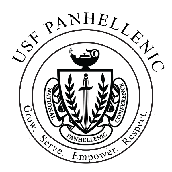 Panhellenic crest png. National conference association at