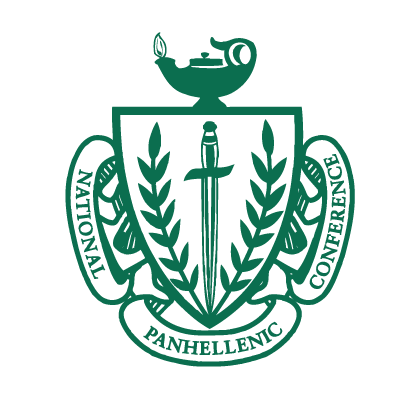 Panhellenic crest png. The council fraternity sorority