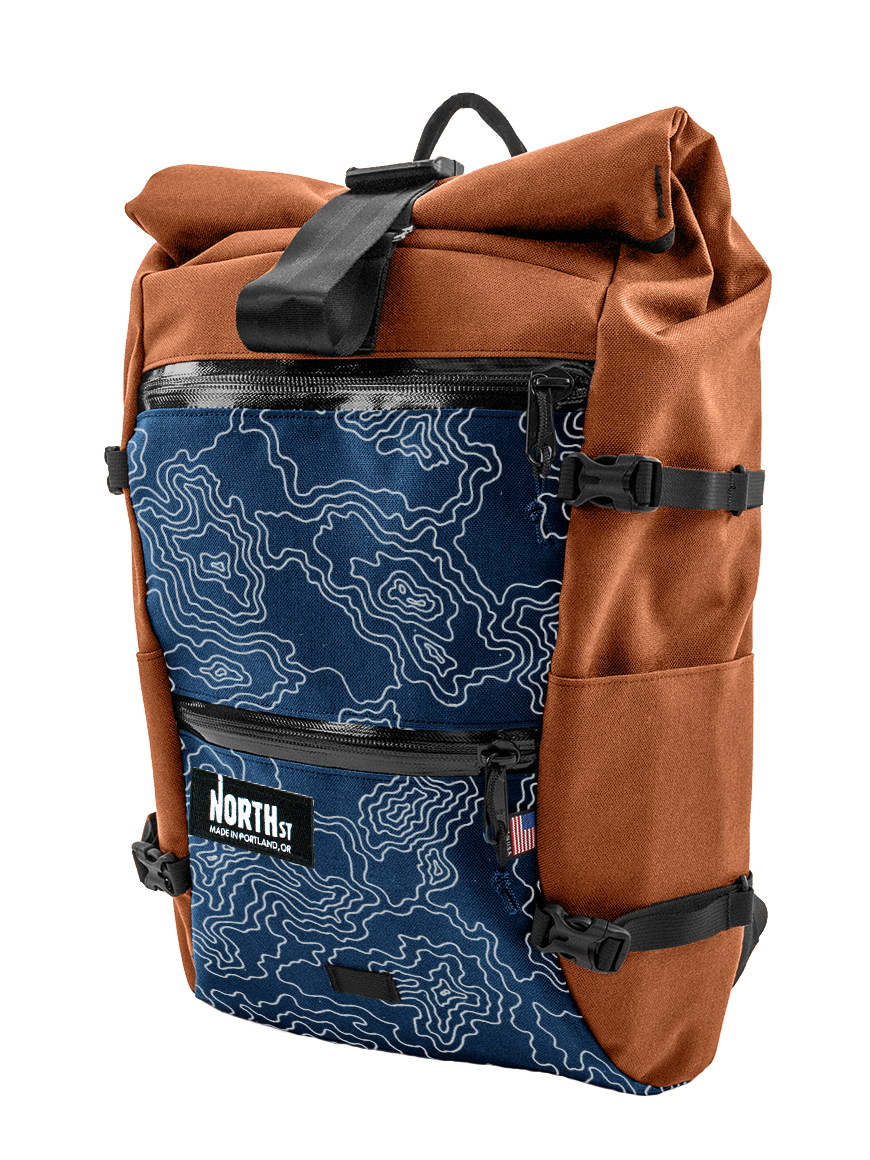 North st bags handcrafted. Pannier clip stylish png