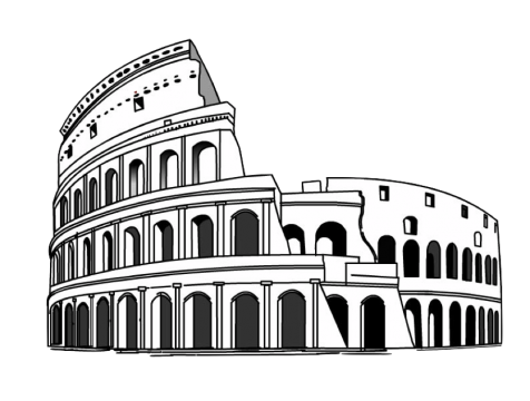 Pantheon drawing black and white. Hd itali load pngmart
