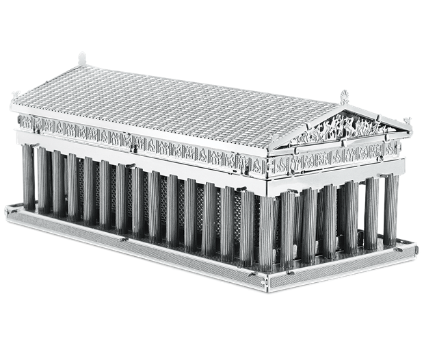Pantheon drawing model. Fascinations metal earth d