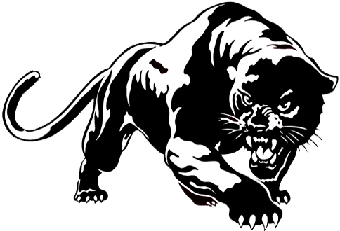 Panther clipart black jaguar. Climax scotts panthers pinterest