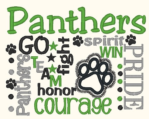 Panther clipart panther cheer. Best spirit images