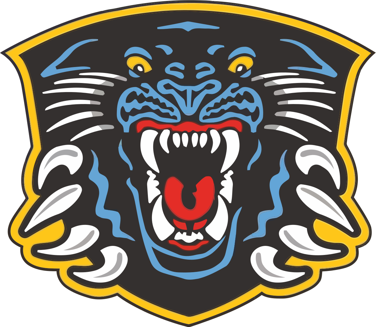 Robin vector stylised. Nottingham panthers wikipedia