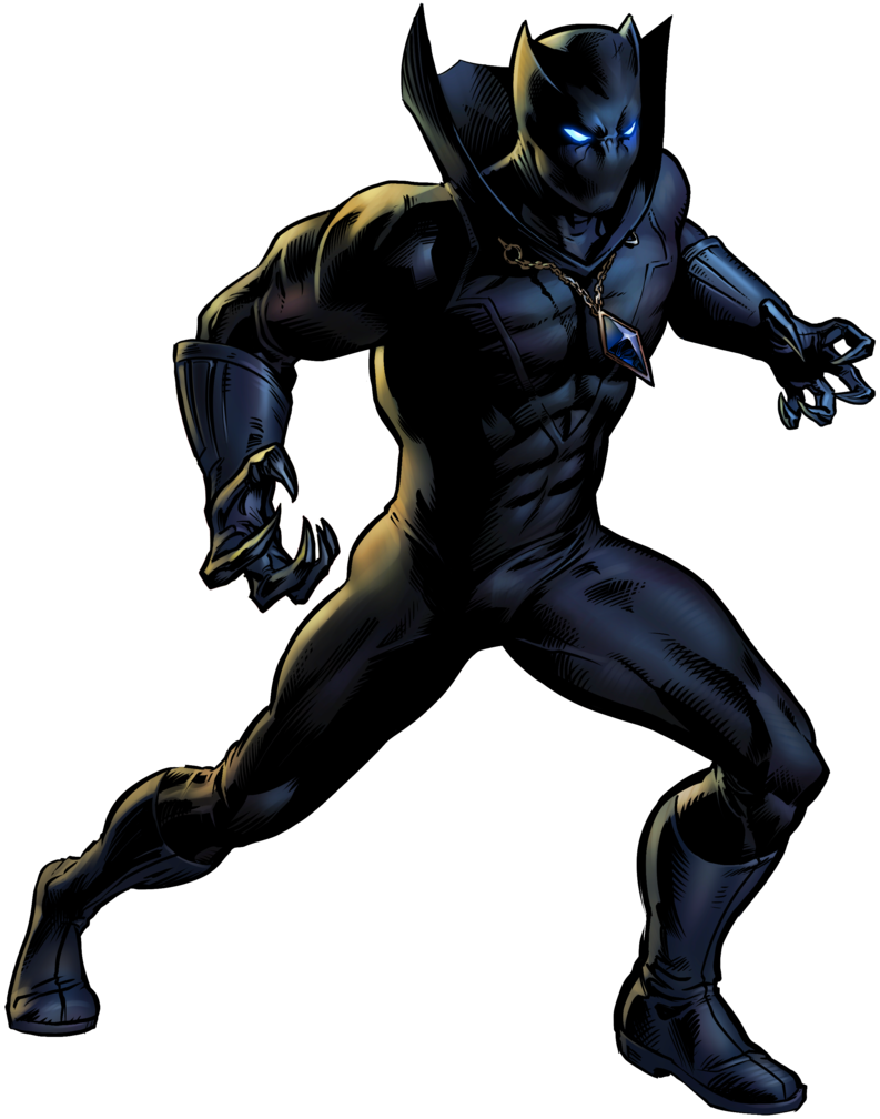 Panther clipart super hero. Black clip art the
