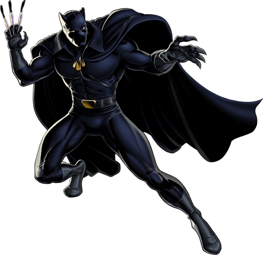 panther clipart super hero