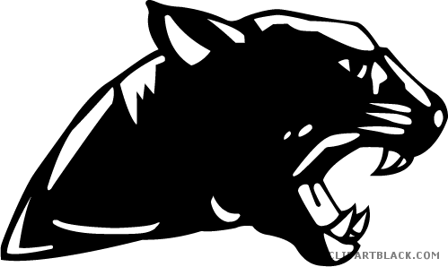 Panther face png. Clipart clipartblack com animal