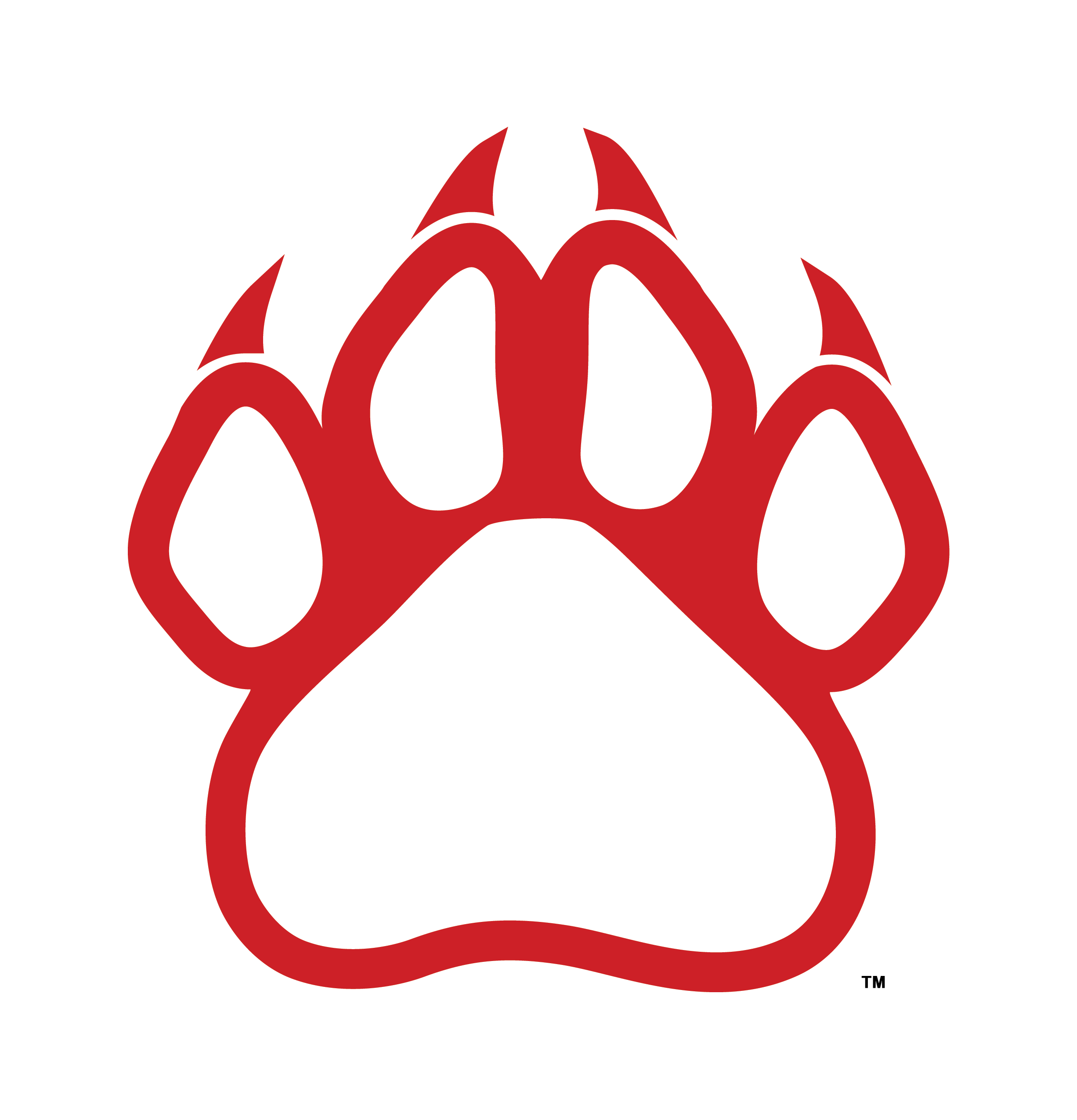 Panther paw print png. Clipart at getdrawings com