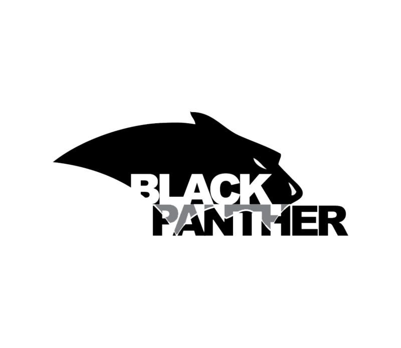 Panther vector png. Download free black logo
