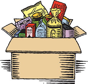 Pantry clipart box food. Where to get emergency