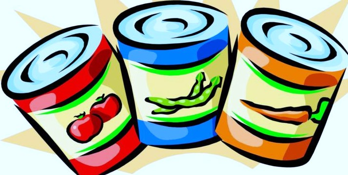Canned image pack. Pantry clipart packaged food clipart transparent stock