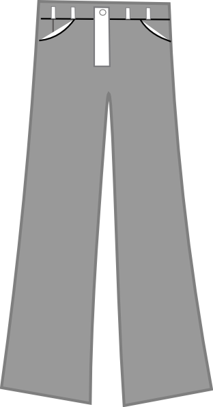 sweatpants vector cartoon