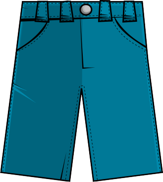 shorts clipart snow pants