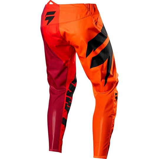 Pants transparent orange. Shift mx white label