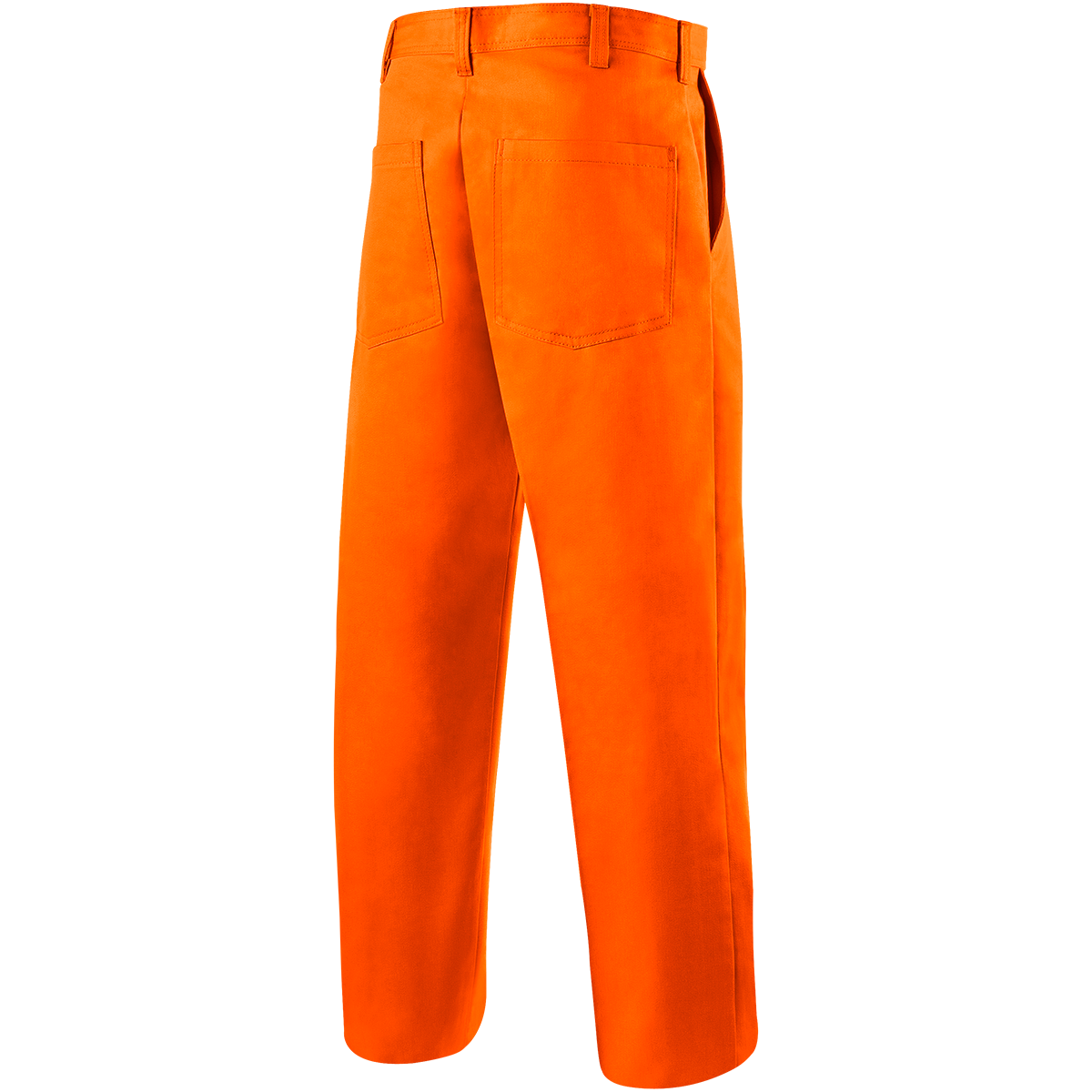 Pants transparent orange. Oz fr cotton