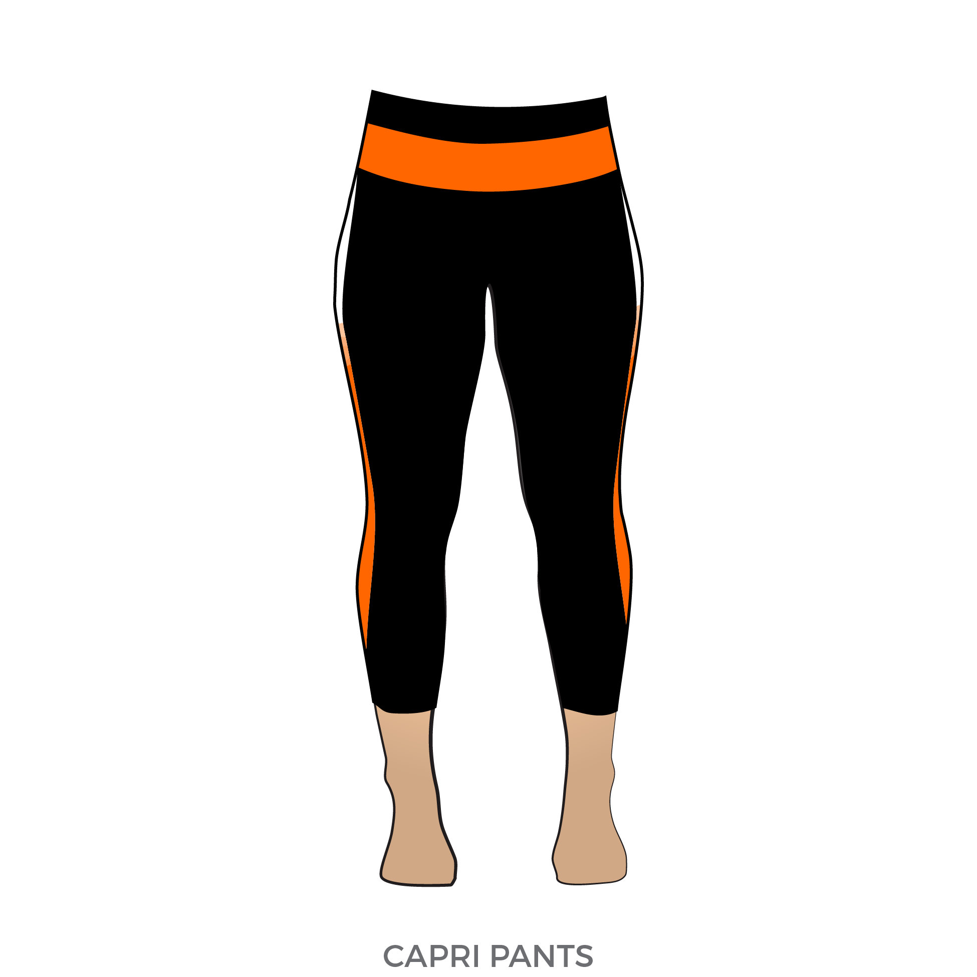 Pants transparent orange. Rage city rollergirls crush