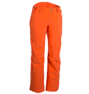Pants transparent orange. Phenix moonlight womens