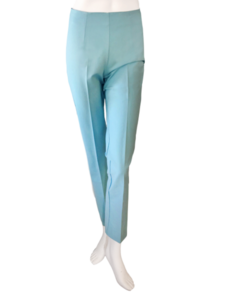 Pants transparent silk. Long stretch pant in