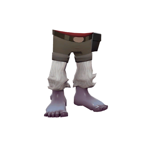 Pants transparent snow. Abominable item tf