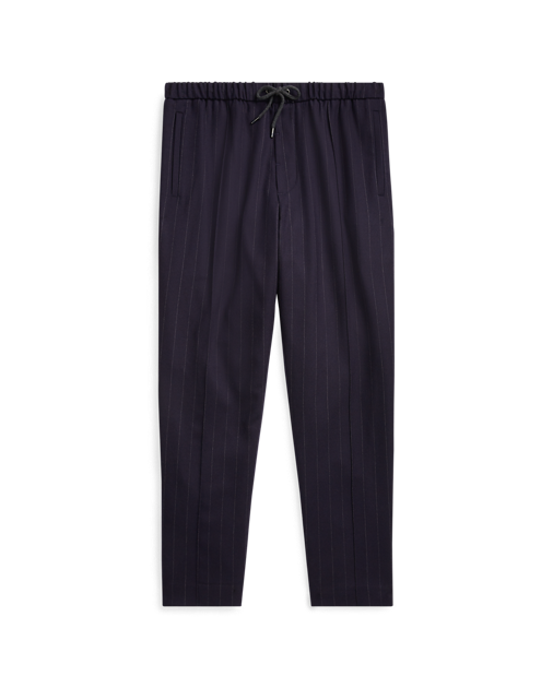 Pants transparent stretch. Relaxed fit wool pant