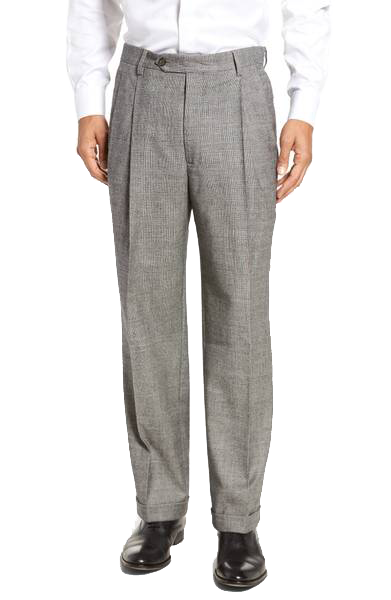 Pants transparent stretch. Mens black and white