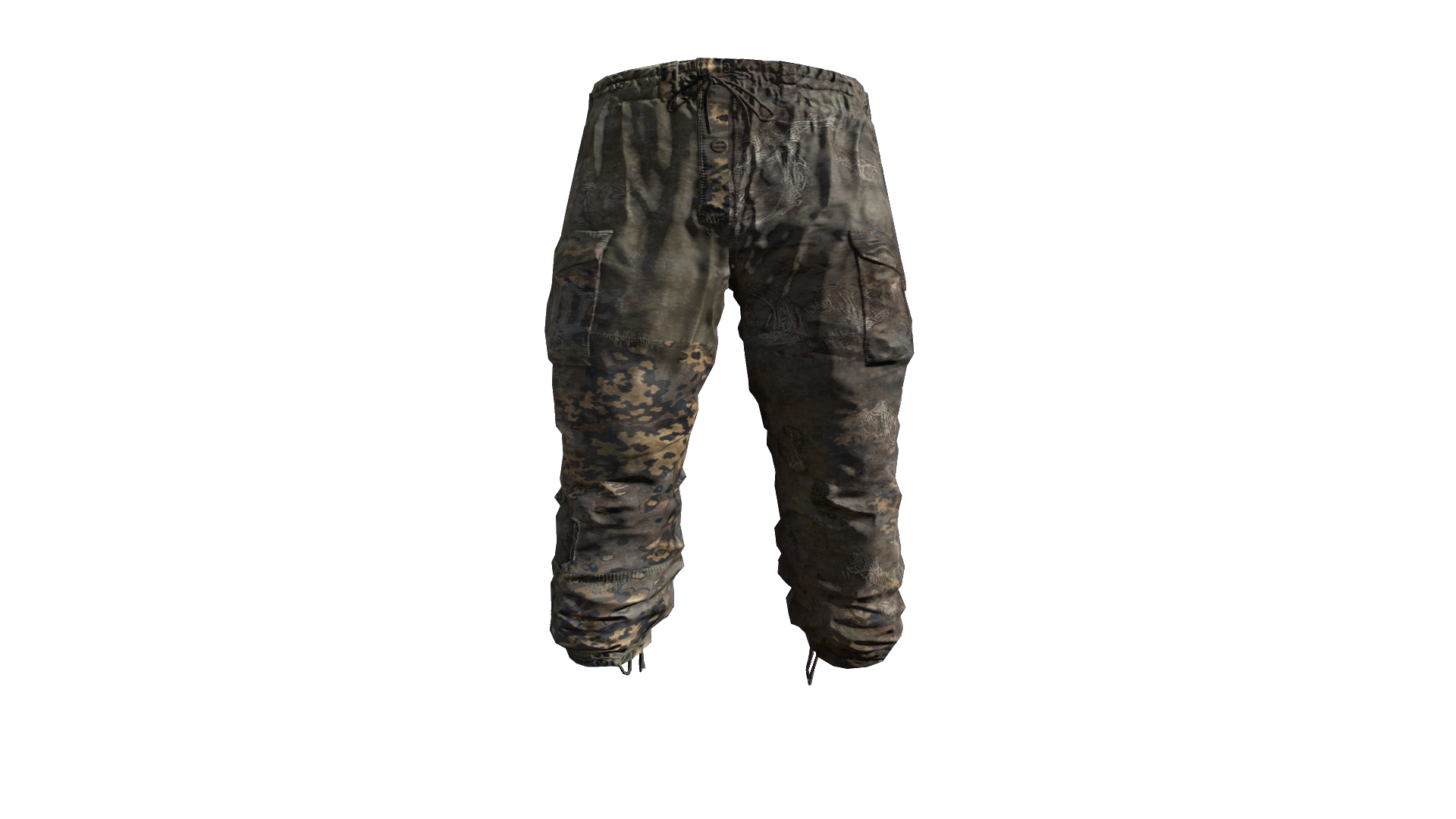 pants transparent army