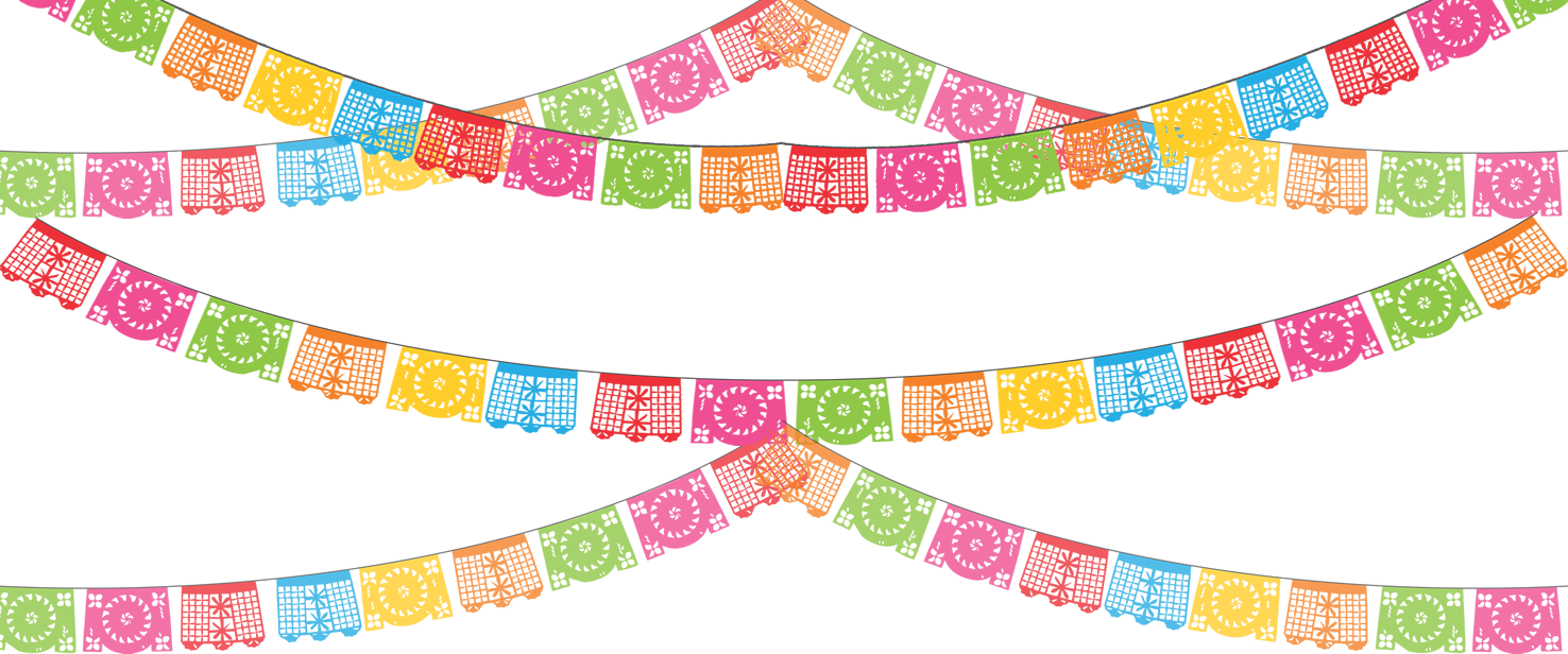 Mexican banner png. Papel picado birthdays pinterest