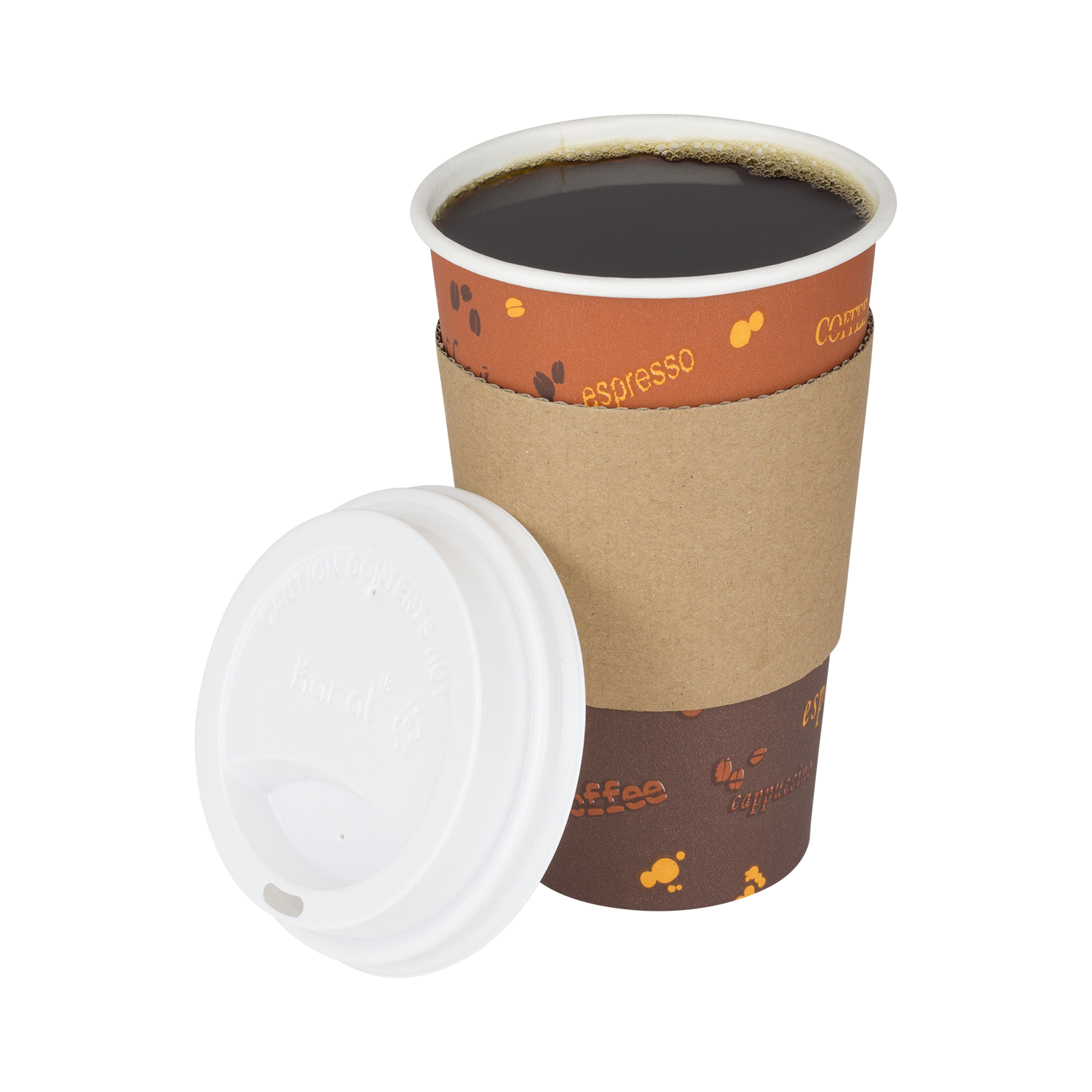Paper coffee cup png. Lollicupstore bubble tea disposables