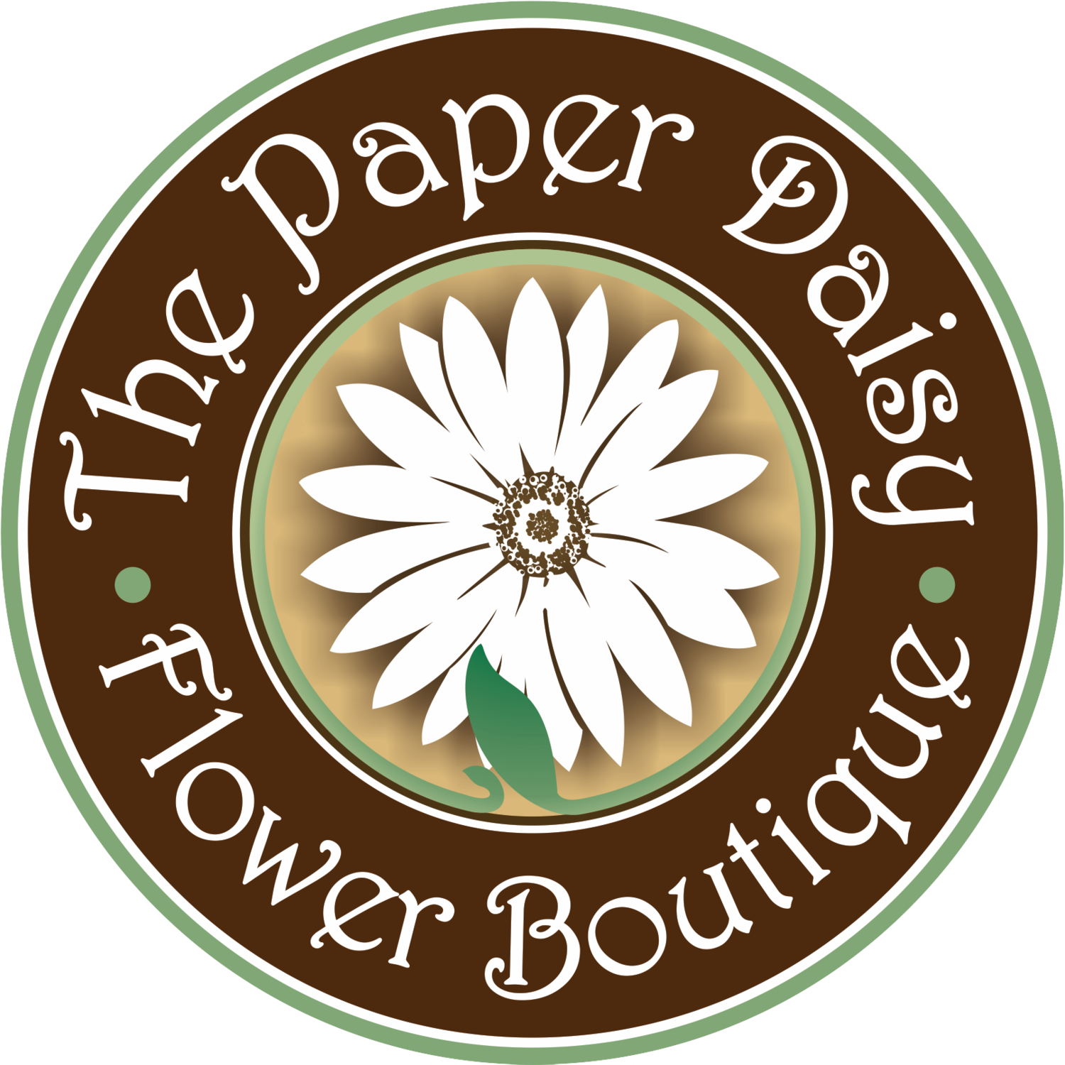 Paper flower png. The daisy boutique