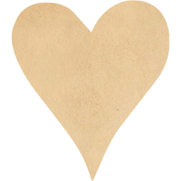 Paper heart png. Vintage icon free icons