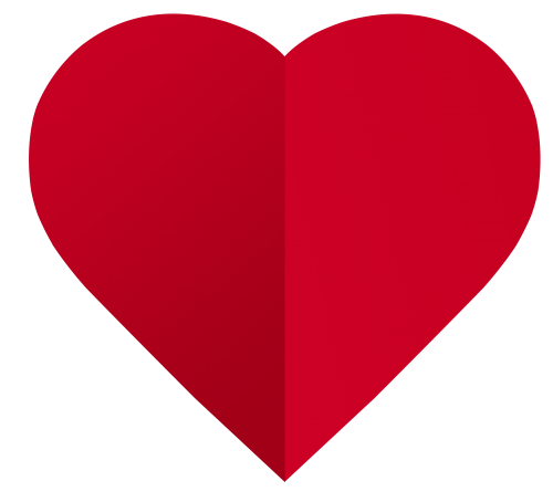 Paper heart png. Red image pngpix