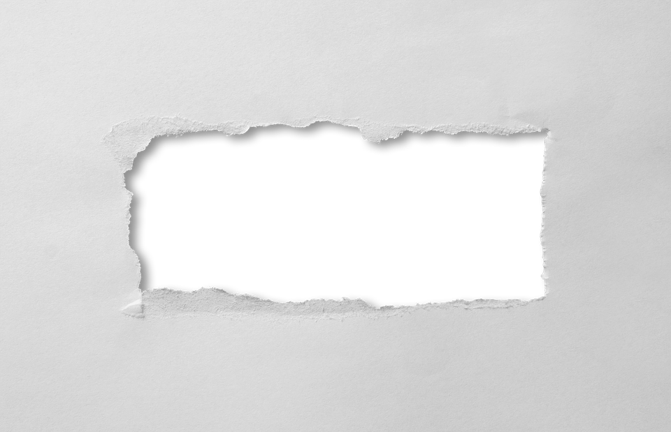 Paper hole png. Free photo through rectangle