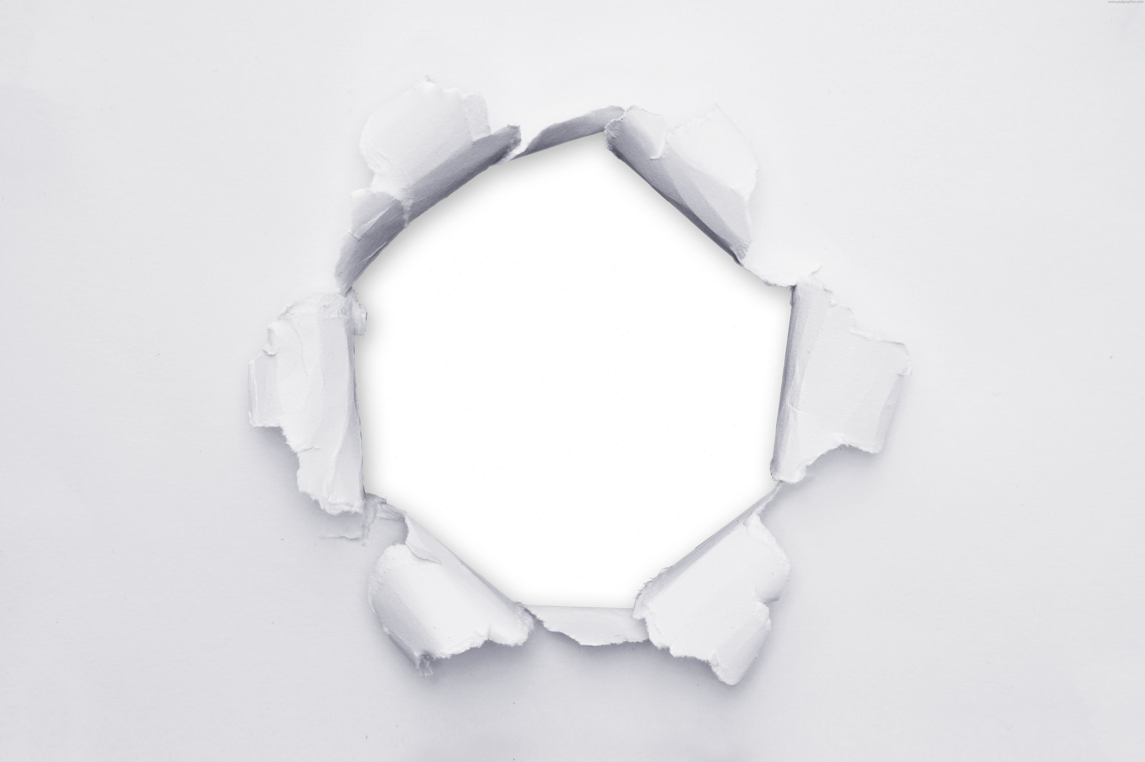 Paper hole png. Transparent in psdgraphics