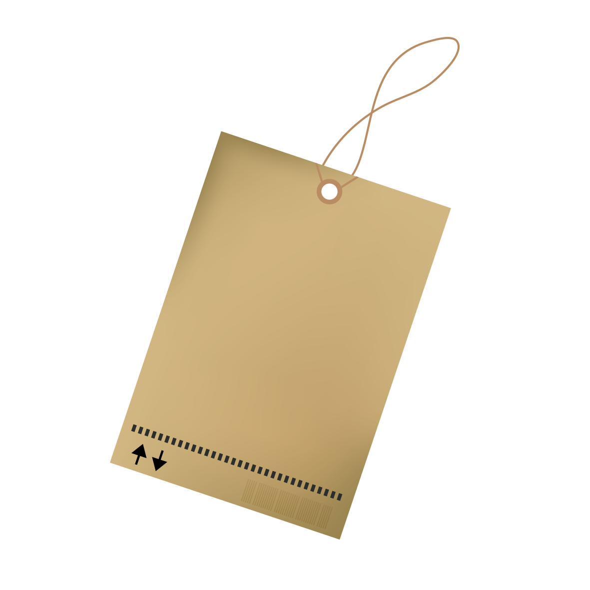 Paper label png. Computer file kraft tag