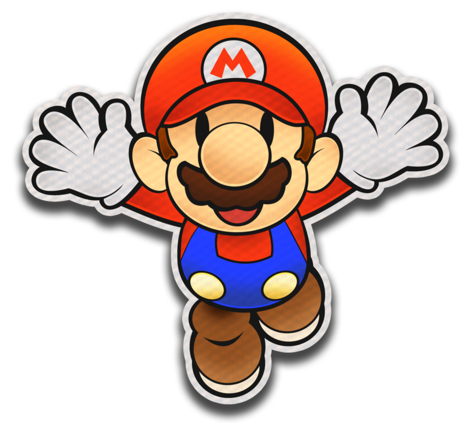 Paper mario color splash png. Style by fawfulthegreat on