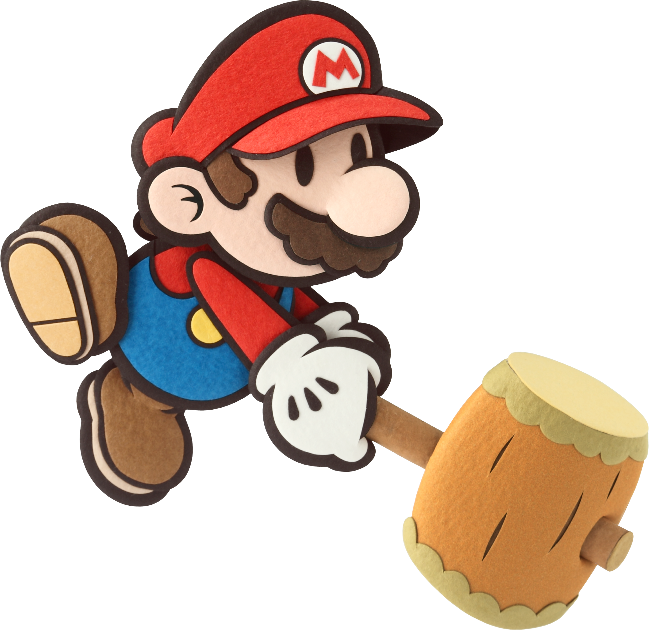 Paper mario sticker star png. New art for party