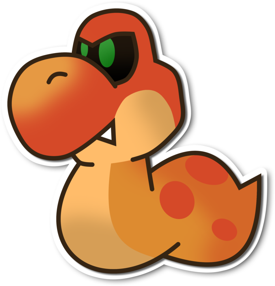 Paper mario sticker star png. Unused enemy by fawfulthegreat